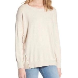 DREAMERS BY DEBUT Forward Seam Lightweight Sweater